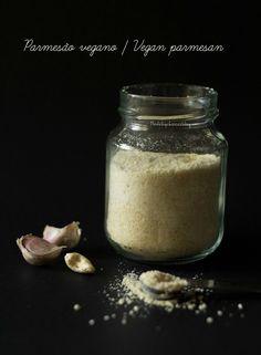 Parmesão vegano - Made by Choices