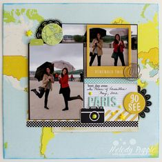 A Paper Melody: Scrapbook Pages