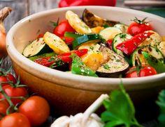 Cantinho Vegetariano: Legumes Assados (vegana)