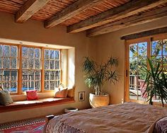 I LOVE window seats!  Bedroom Craftsman Style Ranch Design, Pictures, Remodel, Decor and Ideas - page 15