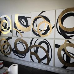 By artist Allison Cosmos. A series of 8 just about complete do to be shipped to…