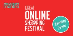 Get all the updates from GOSF on the categories and shops participating at Discount Mantra.
