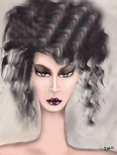 """FreePadaung"" Autora: #JazzMarieKoninger Técnica: Acuarela sobre papel Medidas 35 cm x 20 cm KoningerSchamannMuseum"