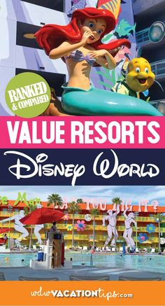 The Walt Disney World Value Resorts are a great way to get all the perks of staying on a Disney property without spending an arm and a leg. You have five options when choosing a value resort! Let's rank them to see which is the best! Disney Value Resorts, Disney World Hotels, Disney Vacations, Walt Disney World, Disney Travel, Family Vacations, Cruise Vacation, Disney World Tips And Tricks, Disney Tips
