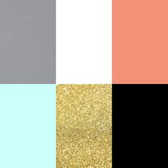 Color Palette: Hot Pink, Gold, Gray, & White (with hints ...