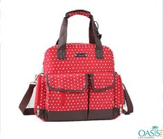 Bubbly #Pink Dotty Baby #Diaper #Bag