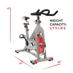 Indoor Cycling Bike Health Fitness Exercising Way Cardio Workout Adjustable Seat Home Exercise Bike, Spin Bike Workouts, Fun Workouts, Spin Bike For Home, At Home Gym, Indoor Cycling Bike, Cycling Bikes, Road Cycling, Gym Setup