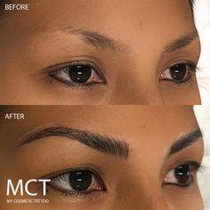 Znalezione obrazy dla zapytania eyebrow Feathering