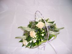 Cute bridesmaids basket from Bridesmaid Baskets, Bridesmaids, Anthony Payne, Wedding Show, Newcastle, Floral Design, Floral Wreath, Wreaths, Creative