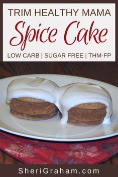 Healthy Tips This Spice Cake makes a yummy Trim Healthy Mama breakfast or snack. Enjoy this sweet and spicy cake without all the carbs and sugar! Trim Healthy Mama Diet, Trim Healthy Recipes, Healthy Desserts, Low Carb Recipes, Snack Recipes, Dessert Recipes, Bread Recipes, Healthy Food, Healthy Mummy