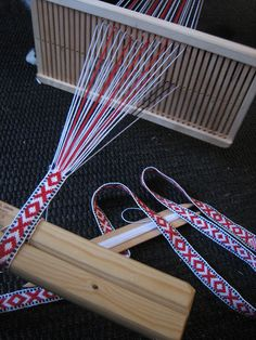 Bandweaving, March 2010 by yarn jungle, via Flickr