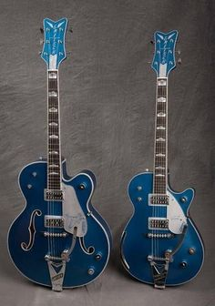 Gretsch Symphony in Blue ohh man!!1!