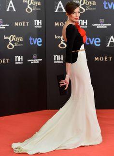 nieves alvarez in stphane rolland couture u goya cinema awards