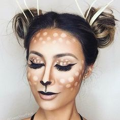 Ok so #Halloween is just around the corner and if you are like us here at Salon Suites then you are scrambling to finalize your Halloween costume!! We love this look from @dressyourface with the @anastasiabeverlyhills contouring kit. #repost @beautywithtashy Check this look and other popular but easy #diyhalloweenmakeup looks on the blog now!