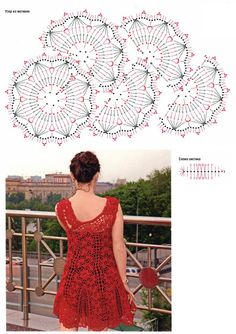What a lovely tunic top this would make - schematic only