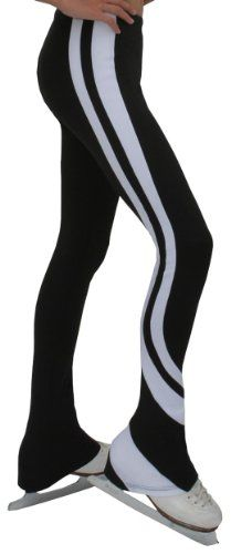 Chloe Noel Figure Skating Swirls Pants P26 White Adult Small * Click image to review more details. (Amazon affiliate link)