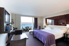 Luxury Deluxe Balcony room at the Cliff House Hotel
