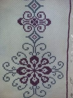 Cross-Stitch Towel