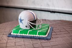 Football groom's cake, Southern Event Planners, Memphis, Tennessee.