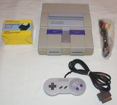 Super Nintendo Console Lot 1 Official Controller New Cords #Nintendo