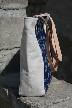 Kabelka Selena modrotlač / remix - SAShE.sk - Handmade Veľké tašky