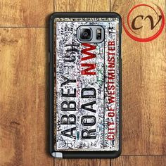 The Beatles Abbey Road Samsung Galaxy Note 5 Case