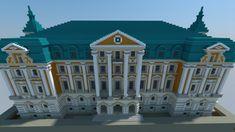 The Bursztynowy Palace ; Polish Palace [Aliquam] Minecraft Project
