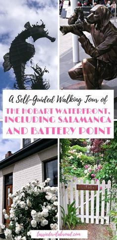 A Self-Guided walking tour of Historical Battery Point, Salamanca and the Hobart waterfront area. #Hobart #Tasmania #travel