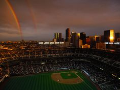 Coors Field and Downtown Denver, Colorado