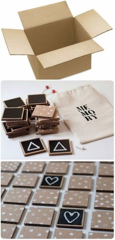 Don't throw the cardboard, I propose a game to you. – # cardboard # I propose # … Games For Kids, Diy For Kids, Activities For Kids, Crafts For Kids, Diy Pour Enfants, Kindergarten Blogs, School Items, Montessori Activities, Paper Toys