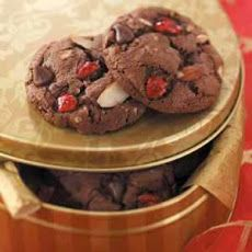 September 24: Happy National Cherries Jubilee Day! Try it in chocolate cookie form!