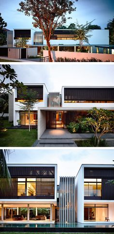ONG&ONG designed the addition and alterations to the 59BTP-House in Bukit Timah, Singapore.