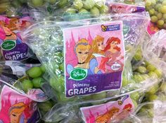 Disney Princess Grapes (click thru for analysis)