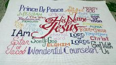 Free Cross Stitch Design His Name is Jesus Cross Stitch Designs, Cross Stitch Patterns, Bible Pictures, Prince Of Peace, Rose Marie, Needle Minders, Friendship Gifts, Joyful, Bible Quotes