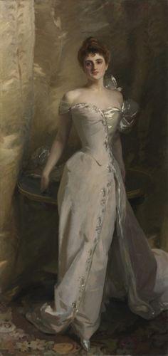 ~Portrait of Lisa Colt Curtis, 1898 John Singer Sargent (American, 1856-1925) oil on canvas, 1998.168~