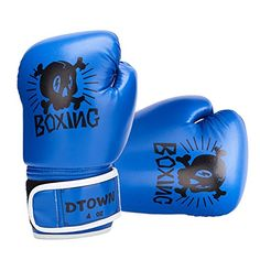 Dtown Kids Boxing Gloves Training Gloves for Children Age 3 to 7 Years PU Leather Boxing Training Gloves, Boxing Gloves, Coloring For Boys, Learn Krav Maga, Sparring Gloves, Youth Age, Kids Hands, Kids Boxing, Cartoon Kids