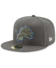 09393e32 New Era Detroit Lions Salute To Service 59FIFTY Fitted Cap & Reviews -  Sports Fan Shop By Lids - Men - Macy's