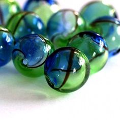 Got to have glass. Would make wonderful earrings. Yum-oh!