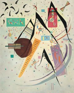 View Pointes noires By Wassily Kandinsky; oil on canvas; Access more artwork lots and estimated & realized auction prices on MutualArt. Wassily Kandinsky, Abstract Words, Abstract Art, Abstract Paintings, August Macke, Pot Pourri, Paul Klee, Art Abstrait, Life Drawing
