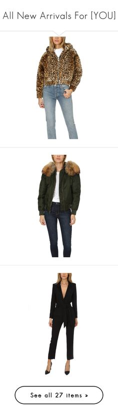 """""""All New Arrivals For [YOU]"""" by blueandcream ❤ liked on Polyvore featuring outerwear, jackets, designers, home, re/done, women's, leopard jacket, leopard print faux fur jacket, leopard faux fur jacket and fuzzy jacket"""