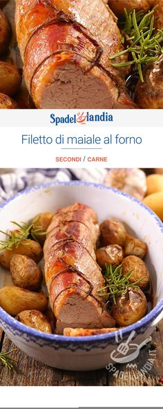 My Favorite Food, Favorite Recipes, Italy Food, Baked Pork, Meat Recipes, Chicken Wings, Beef, Dishes, Baking