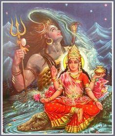Shiva Gangadhara, el que porta el Ganges en su cabeza. Om Namah Shivaya.