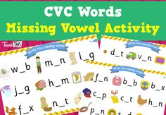 CVC Missing Vowel Activity