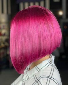 Green Hair, Purple Hair, Unique Hairstyles, Bob Hairstyles, Inverted Bob Haircuts, Hair Setting, Coloured Hair, Wild Hair, Mermaid Hair