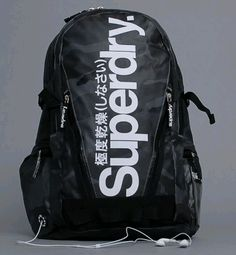 Superdry backpack -Inspired by vintage Americana and using retro graphics and…