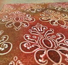Preciosos acabado con las pinturas Markal Painticks http://www.todostencil.com/es/92-markal-paintstiks