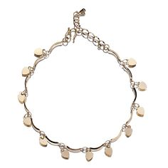 Strawberry Hanging 18k Plated Gold Golden Anklet Chain for Feet Decoration
