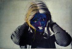 Lynn Hershman, Roberta Blue Face. Roberta Breitmore Series. 1975.