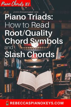 Piano Triads: How to Read Root/Quality Chord Symbols and Slash Chords E Major, Sign Up Page, Free Piano, Playing Piano, Piano Keys, Could Play, Kinds Of Music, Banjo