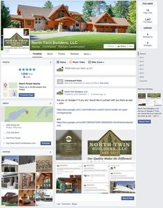 Are you on Facebook? So are we! Please check us out there and follow along if you would like. We always appreciate the likes! ~ John  https://www.facebook.com/NorthTwinBuilders